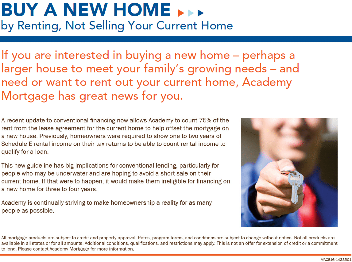 Buy A New Home by Renting